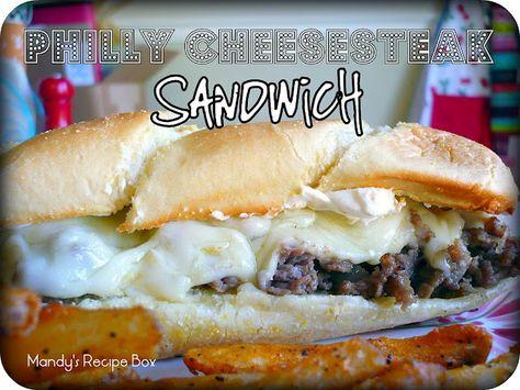 Philly Cheese Steak on Mandy's Recipe Box.