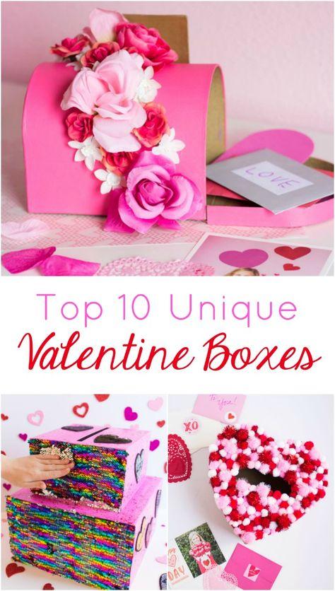 Top 10 DIY Valentine Box Ideas for School