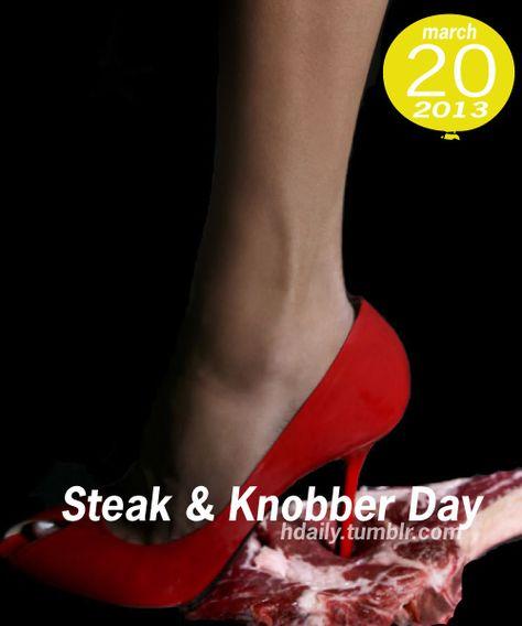 Steak and nobber day