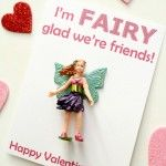 Candy-Free Valentine Free Printable~Fairy Theme