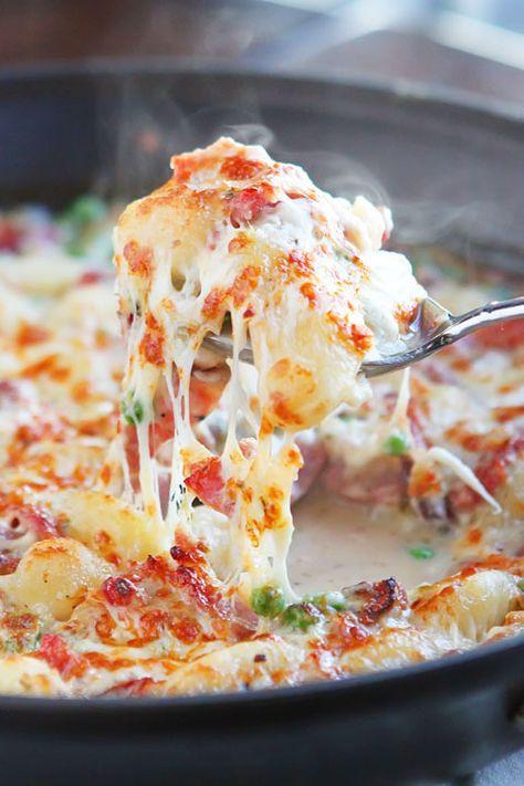 LOVE this Ham & Cheese Gnocchi!!