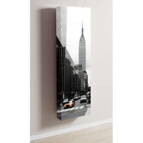 Brayden Studio Schuhschrank Motiv New York Wayfair De In 2020