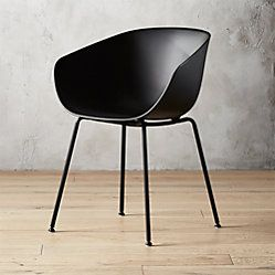Pugo Black Metal Chair Black Metal Dining Chairs White Plastic
