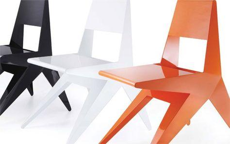 Sedia senza braccioli by Antonio Pio Saracino