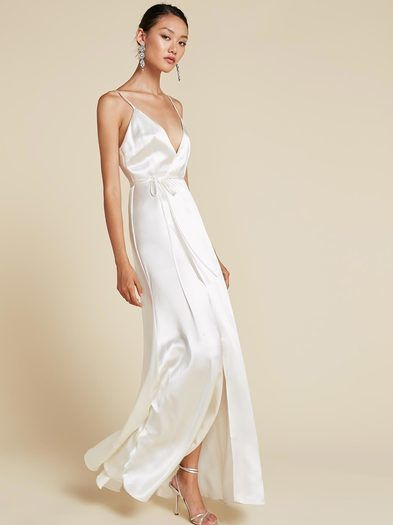 Champagne Slip Dress Fashion Fancy Dresses Pretty Dresses