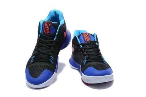 4e9c75bf1176 Official Nike Kyrie 3 Kyrache Light Black Team Orange-Concord-Neo Turquoise  Mens Basketball Shoes 2018 Sale