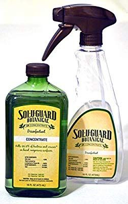 Amazon Com Melaleuca Sol U Guard Botanical 2x Disinfectant With Spray Bottle Kitchen Dining In 2020 Spray Bottle Spray Melaleuca