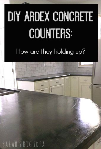 How Durable Are Ardex Concrete Counters? | DIY Ideas | Pinterest | Concrete,  Kitchens And Countertops