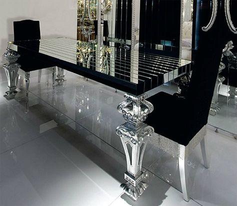 29+ Luxury glass dining table set Trending