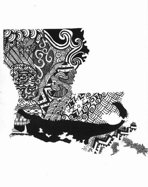 Louisiana tattoo idea