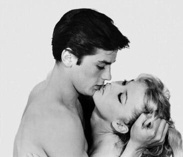 Alain Delon And Bridget Bardot From The 1961 Film With Images