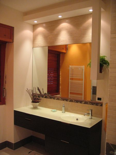 the latest f092a 1ef6d Image result for master bathroom soffit can lighting ...