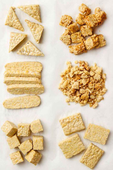 How to Cook Tempeh (The Ultimate Guide) - Okonomi Kitchen Tempeh Recipes Vegan, Vegan Dinner Recipes, Vegan Dinners, Vegetarian Recipes, Cooking Recipes, Cooking Tips, How To Make Tempeh, Tempeh Bacon, Vegans