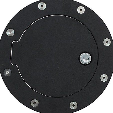 Pilot Bbs1213ck Gas Tank Door Cover With Lock White Car Accessories Pilot All Stainless Steel