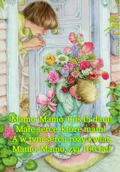 Pin Na Dzień Matki