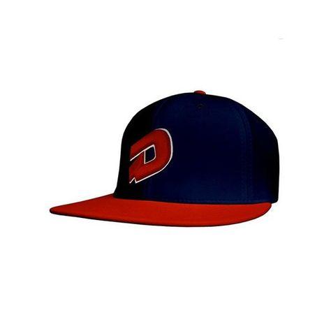 DeMarini D Flexfit Baseball Hat (Flat Bill) - Navy Red  99bats b66872ef760a