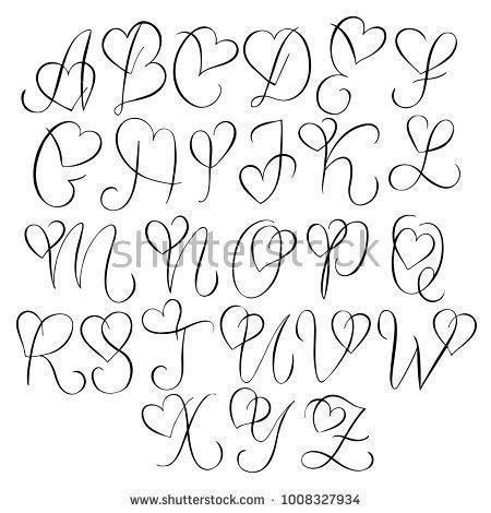 Tattoo Art Tattoo Buchstaben Tattoo Herz 4