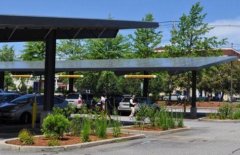 From Asphalt To Electricity Rei Parking Lot Gets Solar Upgrade Backyard Solar Panels Solar