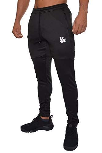 detailing select for best well known YoungLA Track Pants for Men Workout Athletic Gym Joggers ...