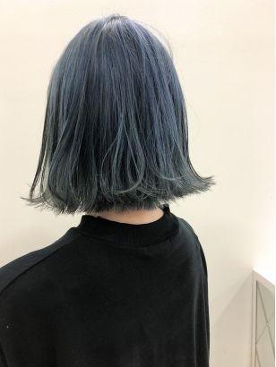 2019年夏 ブルーカラーの髪型 ヘアアレンジ 人気順 5ページ目