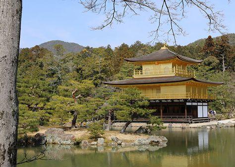 Quioto – Templos Kinkaku-ji, Daitoku-ji, Ninna-ji e Ryoan-ji