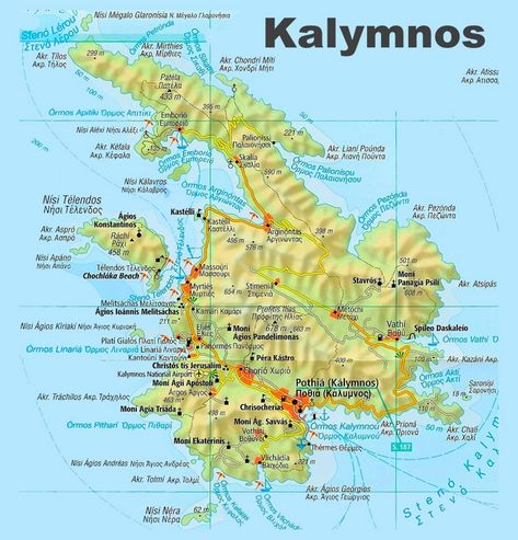 Lefkada travel map Pinterest Travel maps and Greece