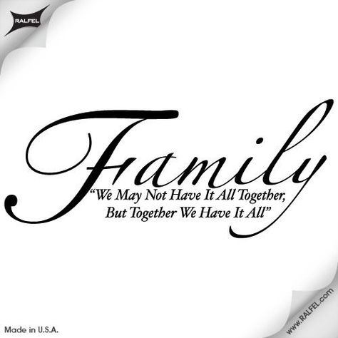 Download Free family quote tattoos for girls | Family Quote Wall ...