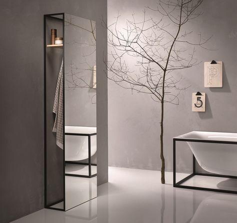 Specchio Porta Accappatoio Bettelux Shape Collezione Mobili