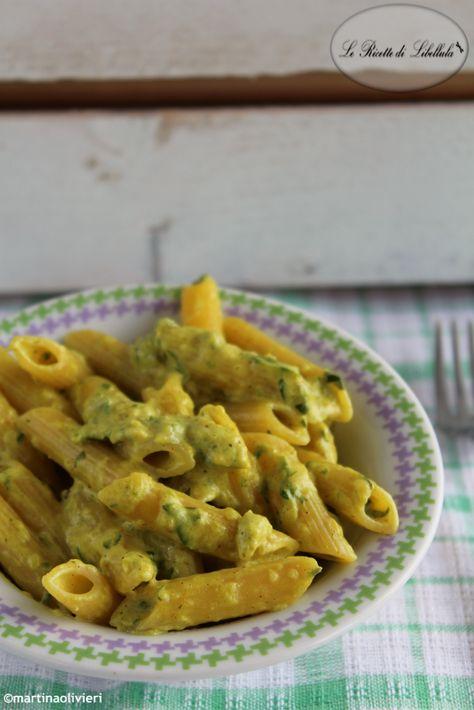 Pasta al curry e zucchine. Provala con #Andalinlatuapasta! #pastaparty