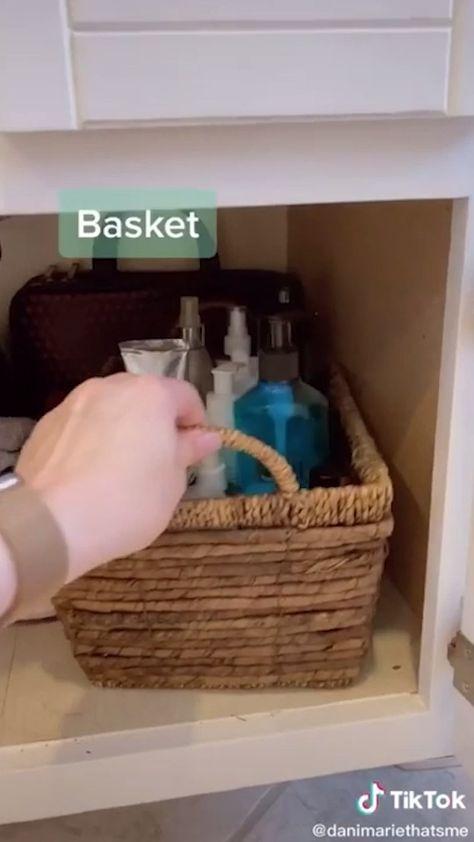 Basket for your bathroom