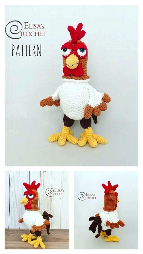 Amigurumi Cute Chicken Free Pattern - Always Free Amigurumi