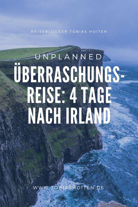 Überraschungsreise mit Unplanned: 4 Tage nach Irland