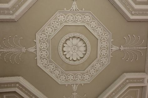 Scottish architect detailed ceiling design from the Century. Robert Adams' was a neoclassical architect, interior designer and furniture designer. One of the architect sons of William Adam. The Brothers Adam was a great team of designers.