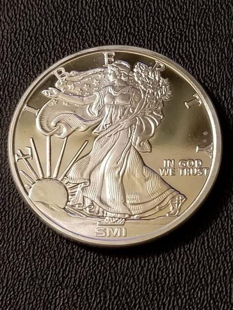 .999 Fine Silver Round Walking Liberty Design Sunshine 1 oz Lot of 10
