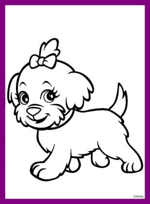 Tag For Easy Cute Puppy Pictures To Draw Cute Puppies Easy To Draw 28 New Dog Coloring Pages Concept Puppy Coloring Pages Dog Coloring Book Dog Coloring Page