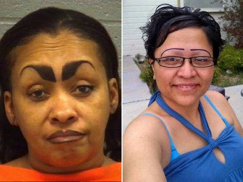 19 Women With WTF Eyebrow Styles - Funny Gallery