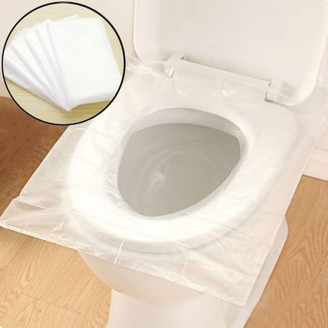 Hot Disposable Toilet Seat Cover Portable Sanitary Hotel Travel