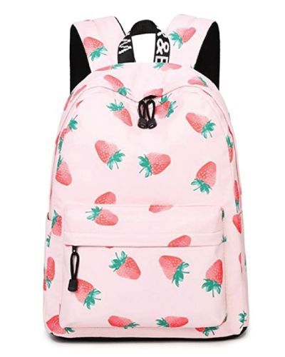 ccb20370e84d60 Sweet strawberry school bag. Cute back to school outfits. Backpacks for  teens.