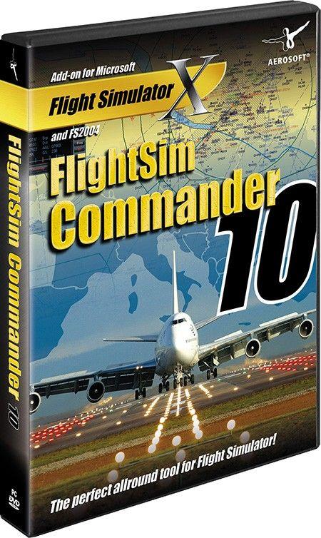AEROSOFT : FlightSim Commander 10 0 FlightSim Commander is a