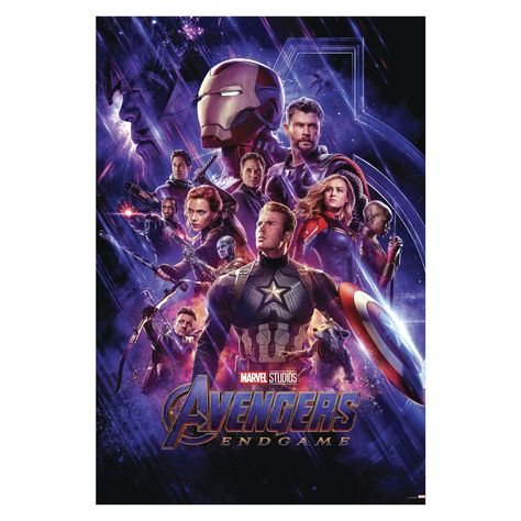 Avengers Endgame Movie Posters Mural - Officially Licensed Marvel Removable Wall Adhesive Decal Large by Fathead | Vinyl