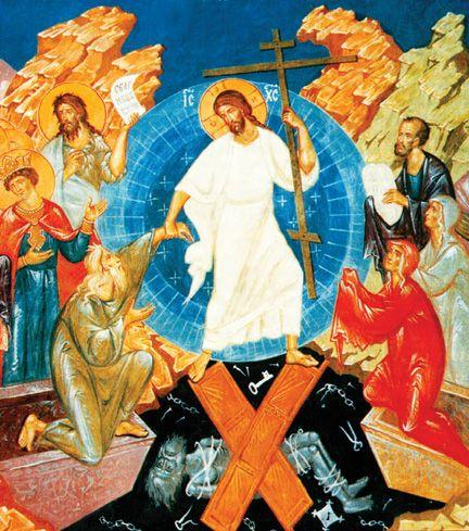 Картины и иконы Пасха, Воскресение Христово | Easter sunday, John  chrysostom, Orthodox icons