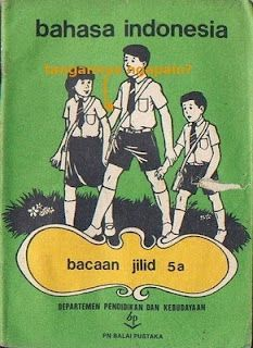 Pelajaran Bahasa Indonesia 5a In 2020 Vintage Poster Design Vintage Ads Retro Advertising
