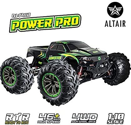 Amazon Com Altair Fast Remote Control Truck 4x4 48km H 30mph 1 10 Scale Large Vehicle Radio Controlled Remote Control Trucks Monster Trucks Best Rc Cars