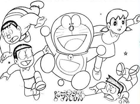Terbaru 30 Gambar Kartun Doraemon Untuk Diwarnai Di 2020 Dengan