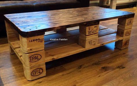 Euro Paletten Holz Kaffee Tisch Palettentisch