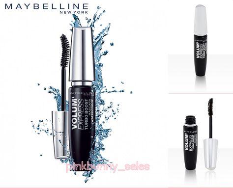 789caadef4f Maybelline Volum' Express Turbo Boost Mascara Eyelashes Curl Sticks Women  Black #MaybellineNewYork