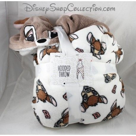 Couverture polaire à capuche PRIMARK Disney Bambi Hooded Throw