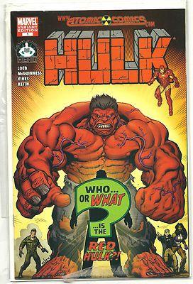 HULK #1 Limited Atomic Comics/Hero initiative edition by McGuinness! ~NEW~ http://r.ebay.com/Z2qdgm