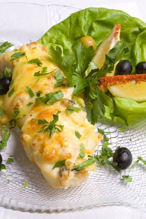 Heavenly Halibut with Parmesan Cheese Crust #Recipe