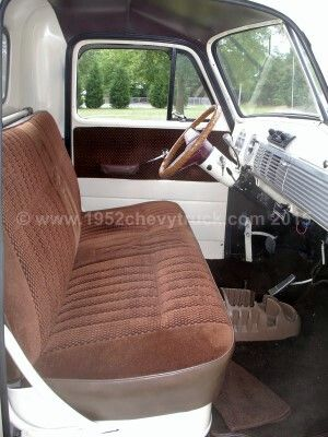 1949 53 Chevy Truck Upholstery Seats Carpets Headliner Door Pnaels Aqrm Rest Centre Console Chevy Trucks 53 Chevy Truck Chevy